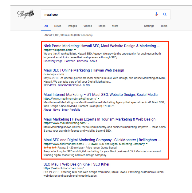 SEO Discovery Page 2