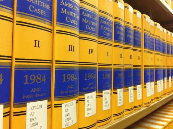 maritime law books.