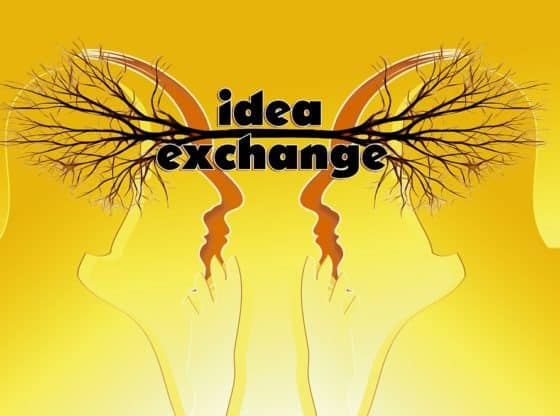 idea exchange.
