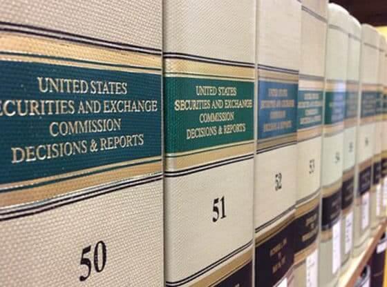 sec law books.