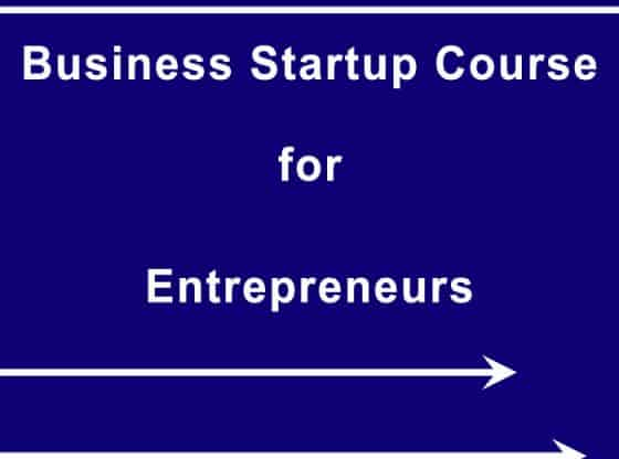 business startup course