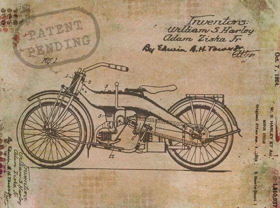 patent pending harley.